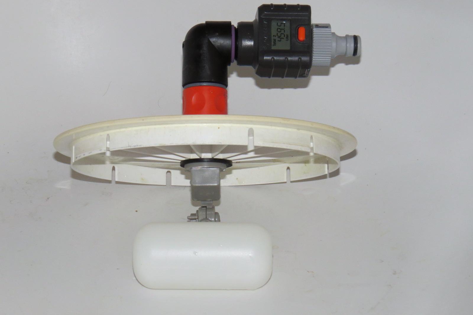 Contr le du d bit d eau remplissage piscine automatique for Regulateur niveau d eau piscine